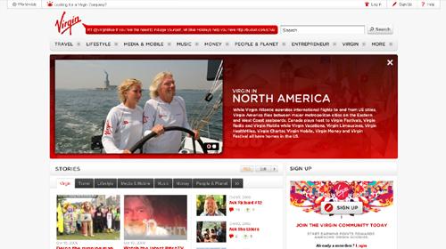 Website Design Showcase Of 21 Popular Brands 3