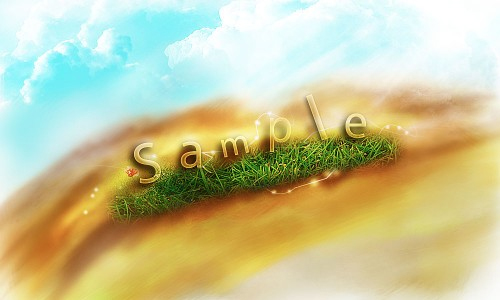 Create-a-Transparent-Text-Effect-with-Fresh-Grass-Texture-and-Custom-Brushset
