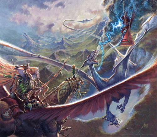 Metallic-Dragons-Aerial-Combat