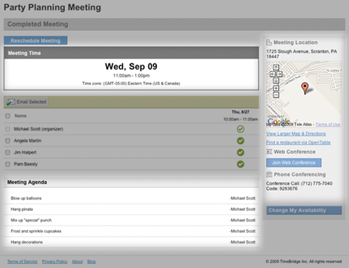 Now Its Incredibly Easy To Schedule And Lead Great Meetings With TimeBridge 46