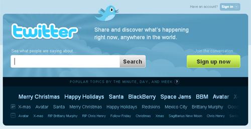 16 Popular Website Redesigns Of 2009 5