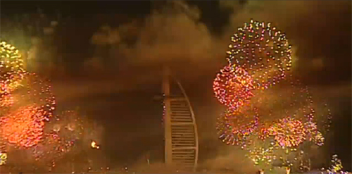 Breathtaking: New Year's Fireworks Shows For Celebrating 2010 7