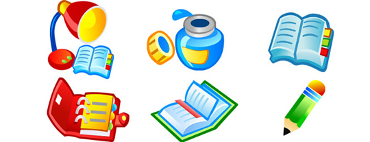 Book-Icons