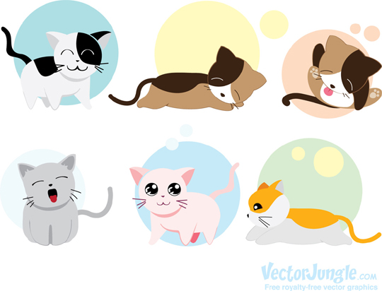 FREE-VECTOR-KITTENS