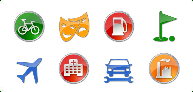 Fabulously cool: Icons for any designer creation 5