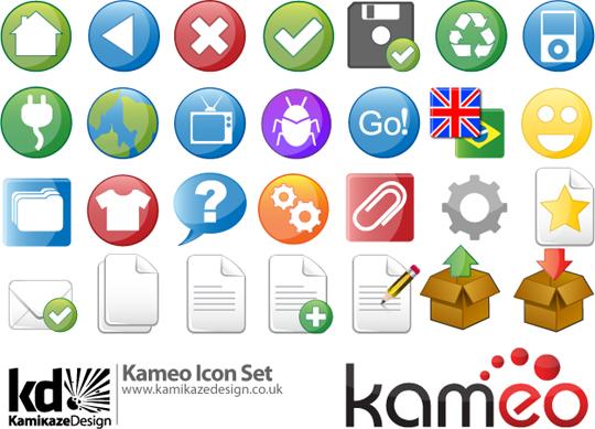 Kameo-Icon-Set