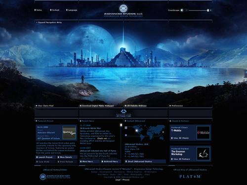 35+ Fantastic Examples Of Beautiful Flash Websites 24