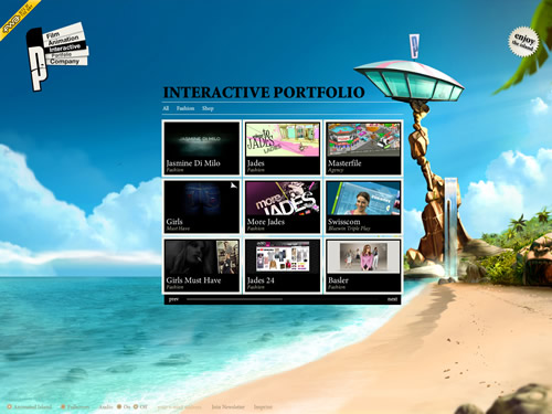35+ Fantastic Examples Of Beautiful Flash Websites 26