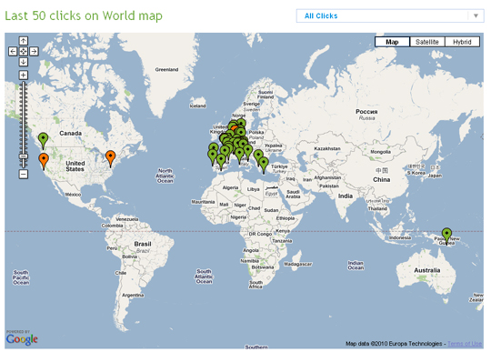 Clickmeter-clicks-on-World-map