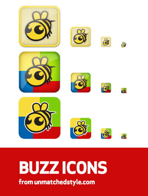 Google-Buzz-Icons