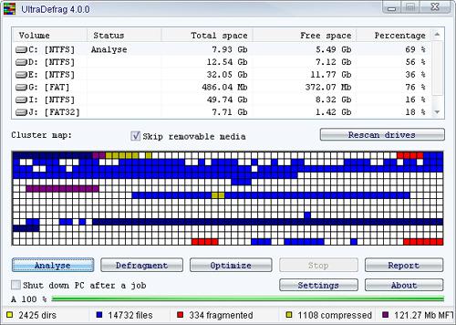 Six Powerful Free Disk Defragmentation Tool 1