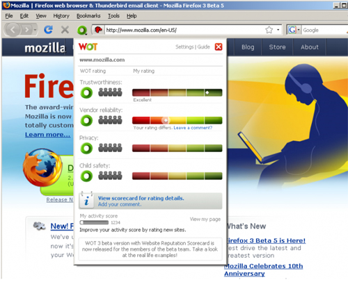 WOT-Safe- Browsing-Tool