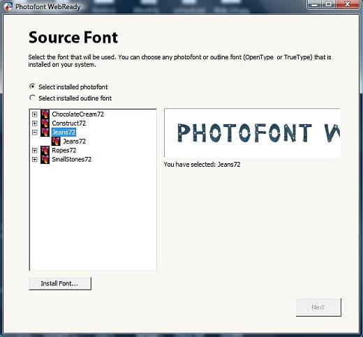Photofont WebReady: A Revolutionary Font Converter 1