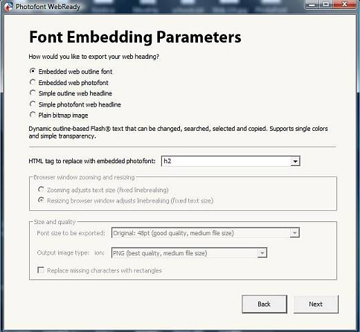 Photofont WebReady: A Revolutionary Font Converter 2