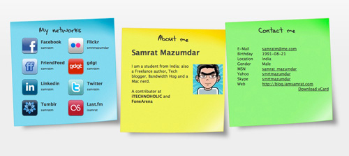 Why You Should Have A vCard And Examples Of Personal vCards To Inspire You 3