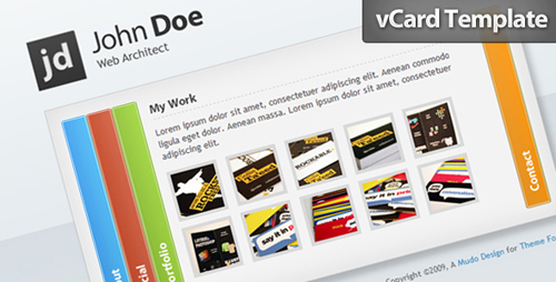 Why You Should Have A vCard And Examples Of Personal vCards To Inspire You 25