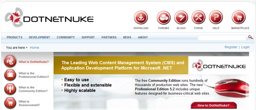 DotNetNuke Makes It Easier For You To Build Feature-Rich, Interactive Web Sites And Applications 4