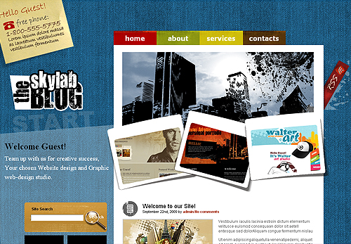 Congratulations To The Winners Of WordPress Theme And jQuery Template By FlashMint 6