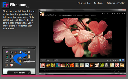 Flickroom Makes It Easier To Browse Flickr On Your Desktop 1