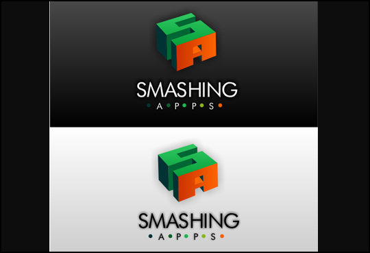 Winner Of The Logo Redesign Contest For Smashing Apps 9