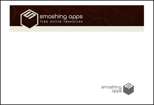Winner Of The Logo Redesign Contest For Smashing Apps 6