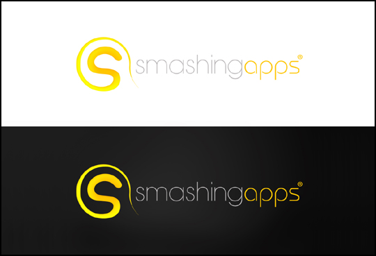 Winner Of The Logo Redesign Contest For Smashing Apps 12