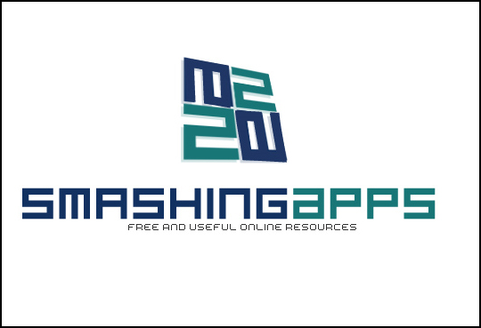 Winner Of The Logo Redesign Contest For Smashing Apps 5