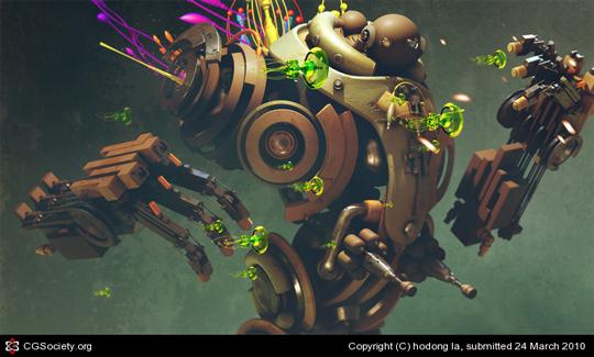 Detailed CG Artworks