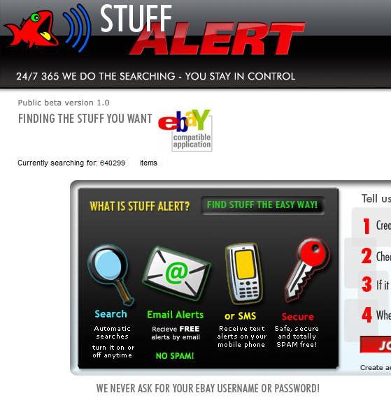 Stuff Alert