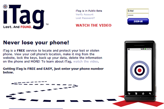 Locate Your Lost Android Phone With iTag 7