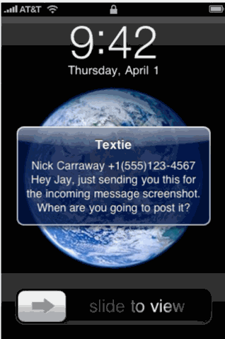 Send And Receive Unlimited Free Messages From iPhone, iPod and iPad 1