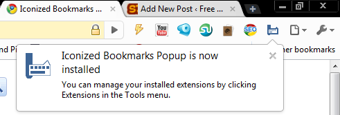 Get Quick And Easy Access To Your Favorite Bookmarks With Iconized 6