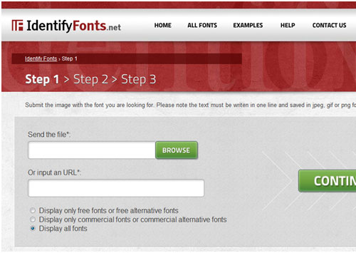 identify-fonts