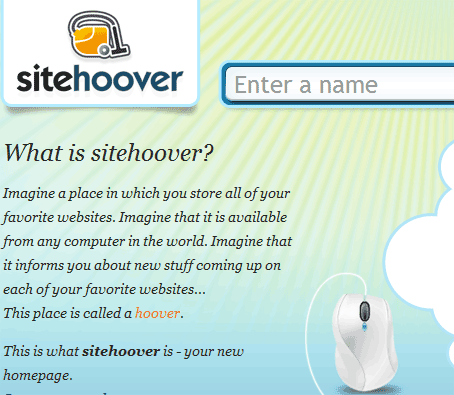 Save Your Bookmarks As Browser Homepage Thumbnails & Access Anywhere With SiteHoover 7