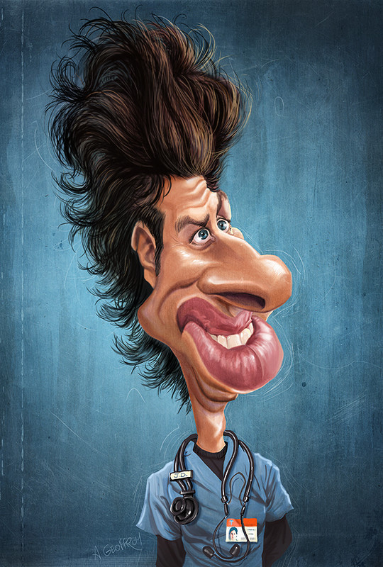Hilariously Entertaining Examples Of Celebrity Caricatures 8