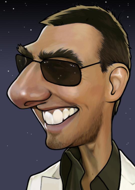 Hilariously Entertaining Examples Of Celebrity Caricatures 14