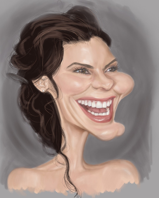 Hilariously Entertaining Examples Of Celebrity Caricatures 17
