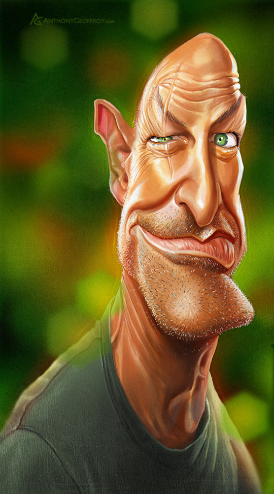 Hilariously Entertaining Examples Of Celebrity Caricatures 20