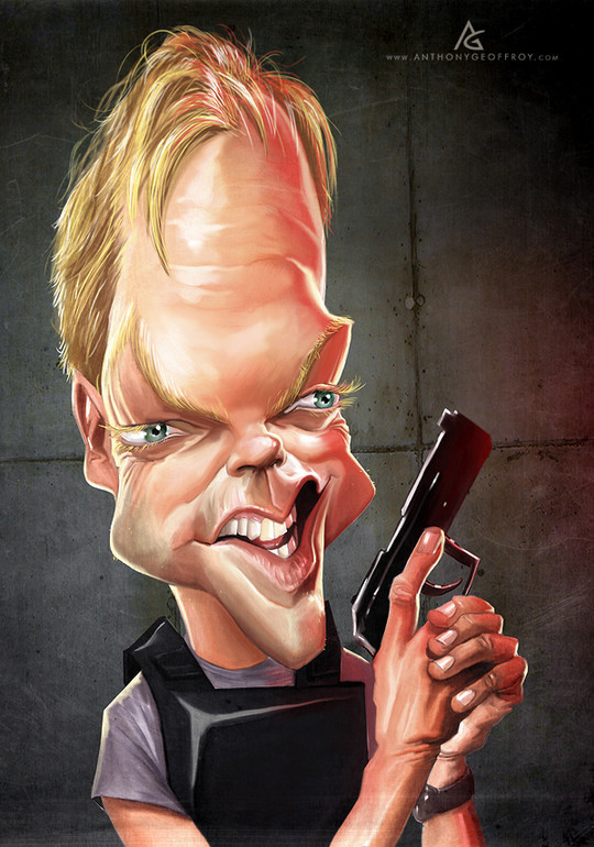 Hilariously Entertaining Examples Of Celebrity Caricatures 21