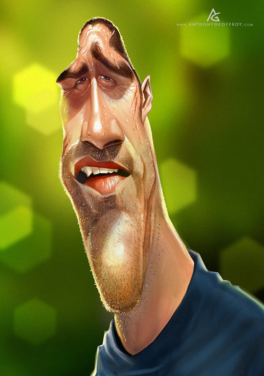 Hilariously Entertaining Examples Of Celebrity Caricatures 22