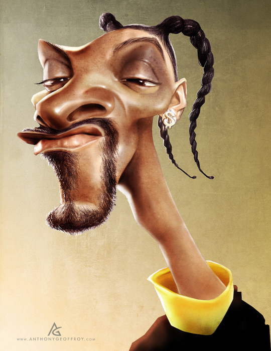 Hilariously Entertaining Examples Of Celebrity Caricatures 23
