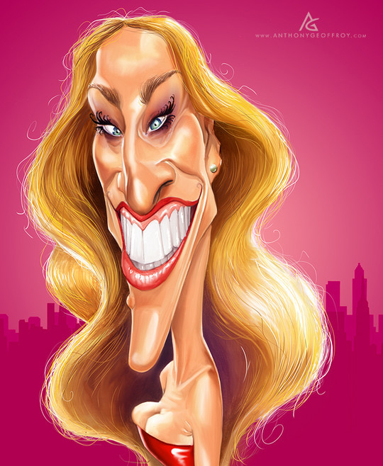 Hilariously Entertaining Examples Of Celebrity Caricatures 35