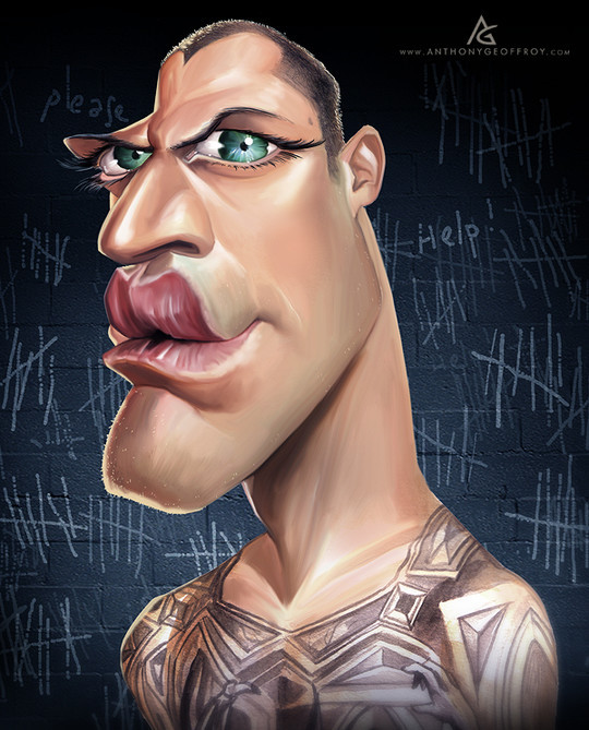 Hilariously Entertaining Examples Of Celebrity Caricatures 36
