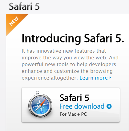Safari 5 Improved The Way You Surf The Web 1