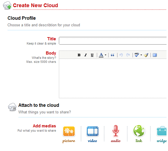 Plenton: A 'Cloud Sharing' Website With Wonderful Social Media Potential 5