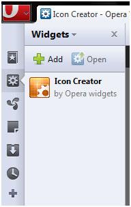 Icon Creator: Opera Widget To Easily Create Icons 1