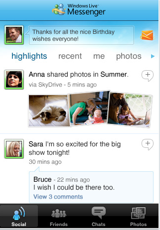 Windows Live Messenger For iPhone Goes Live On App Store 1