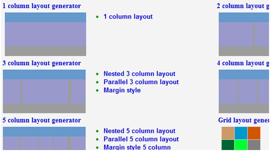 Top 17 Websites To Easily Generate CSS Grid Layouts 13