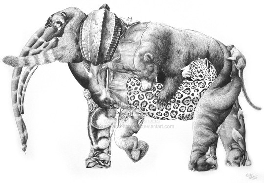 Pencil Sketches That Make You Say 'Wow' 19