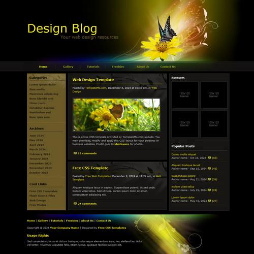templatemo_084_design_blog